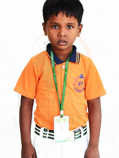 Mukesh B, UKG Student