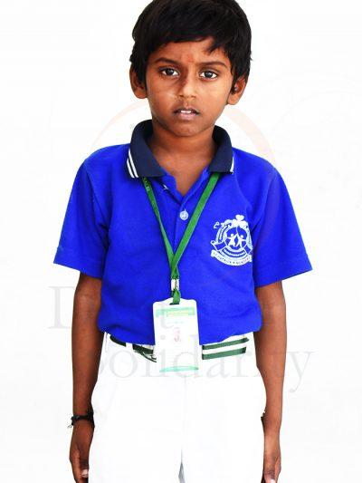 Naveen Kumar A, UKG Student