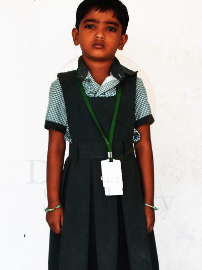 Supritha, UKG Student