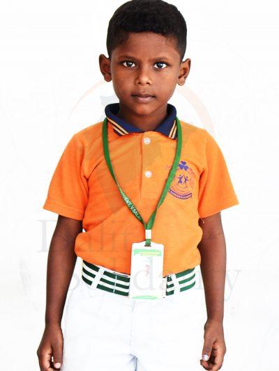 Thennavan P, UKG Student